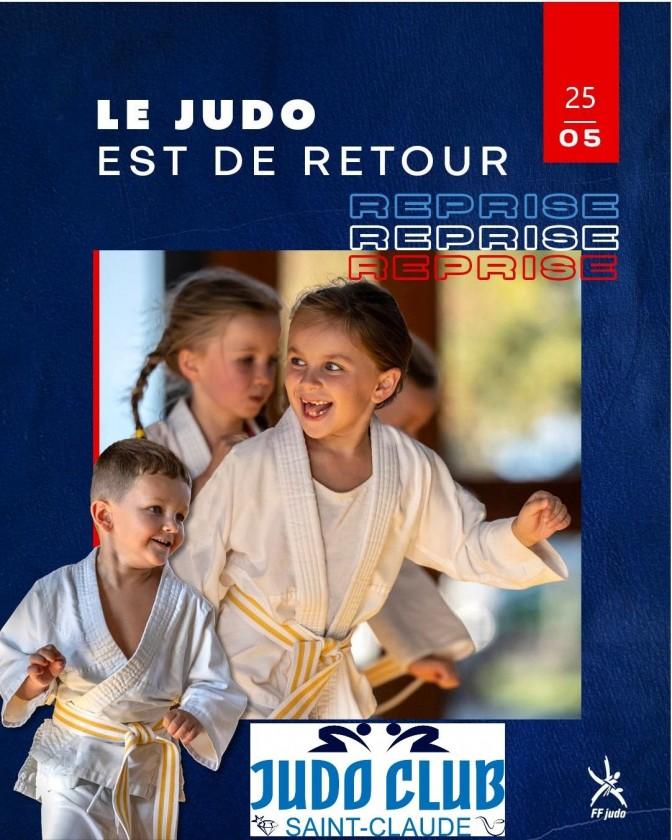 Image de l'actu 'Reprise des cours de judo pour les -18 ans à partir du mardi 25 mai'