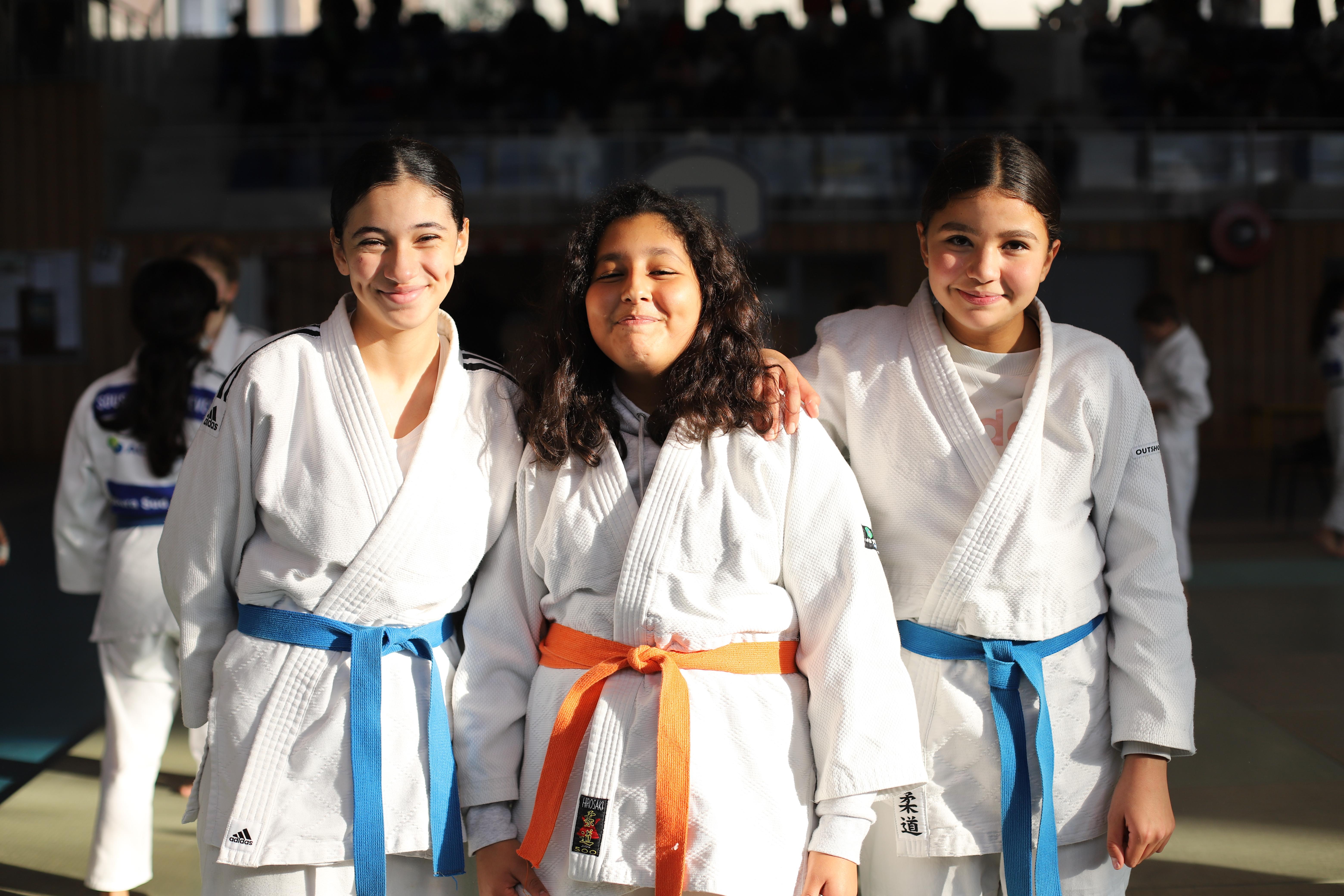 Les minimes filles au Challenge Ramon LACROIX